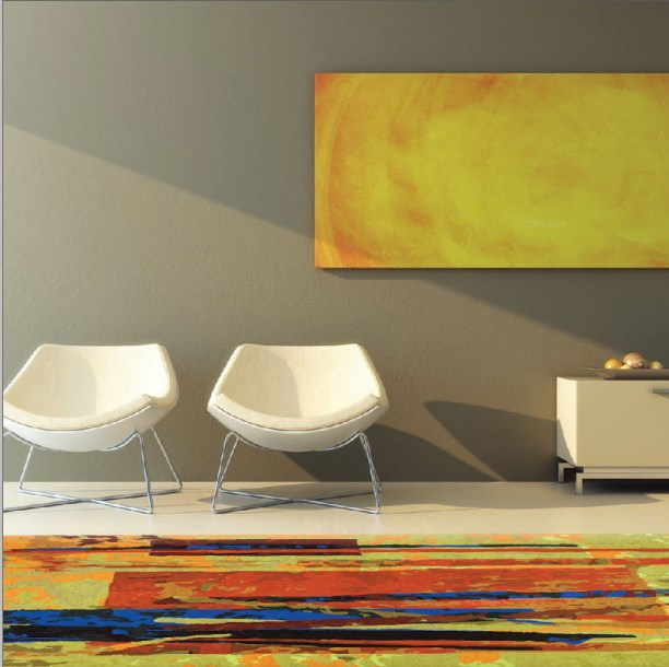 Captivating Abstract Paintings Kathleen Mooney Artist   Rugs